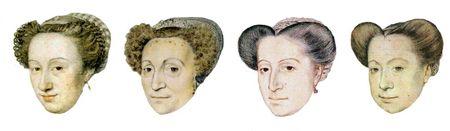 La coiffure française en 1573