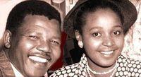 Winnie Madikizela-Mandela et Nelson Mandela