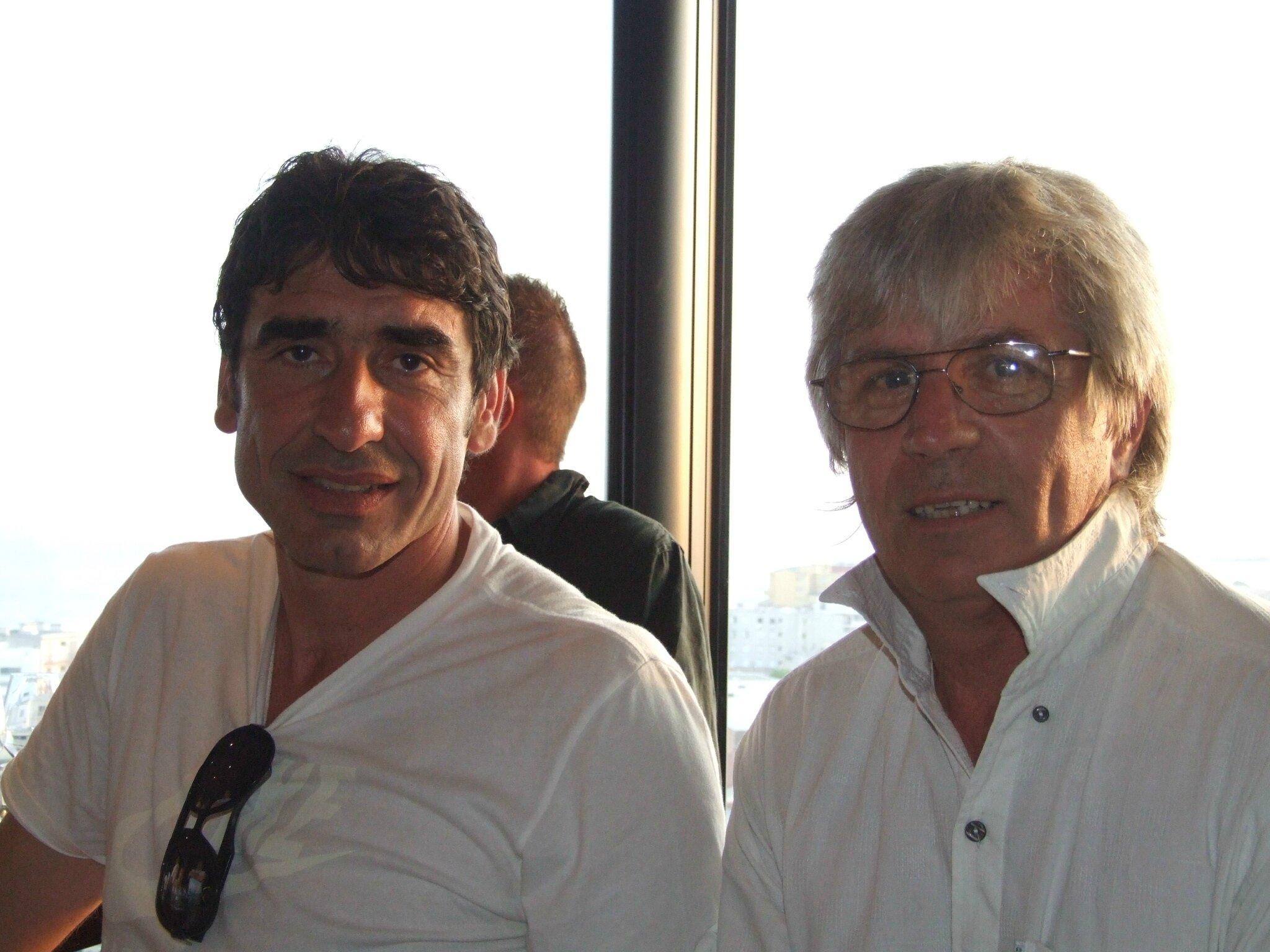 Joel cantona et patrick
