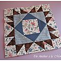 Civil war quilt, bloc 44