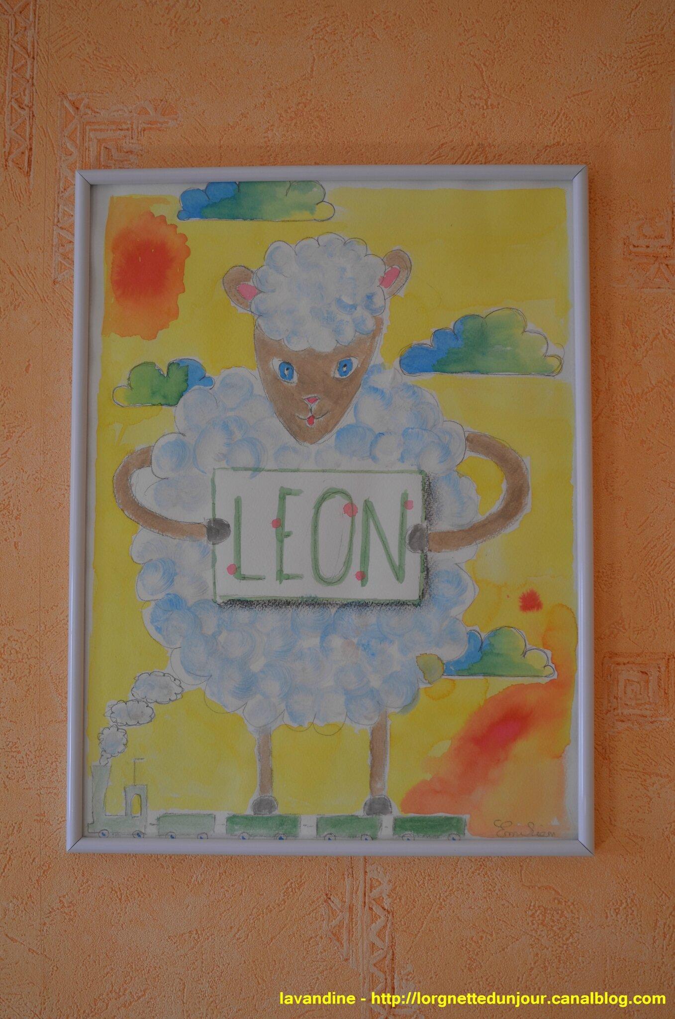 04/04/15 : Léon, le mouton en 3D (1)