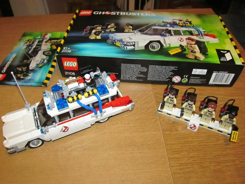la voiture ghostbusters en lego ma martinique madinina. Black Bedroom Furniture Sets. Home Design Ideas