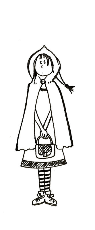 Petit chaperon rouge photo de new les dessins des - Dessin du chaperon rouge ...