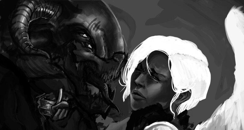 angel and demon 1