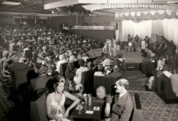 inside the fiesta club 70's