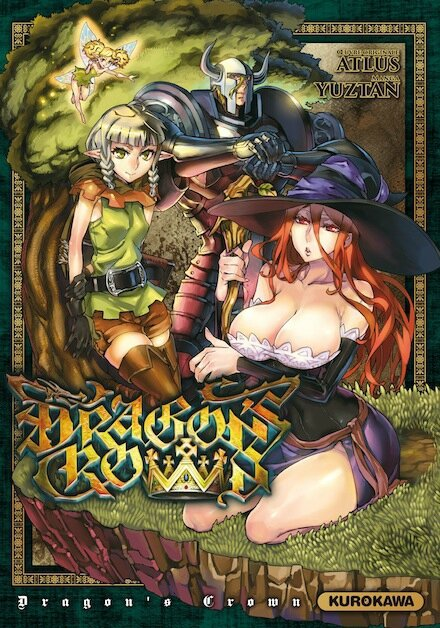 dragon-s-crown-manga-volume-1-simple-247097