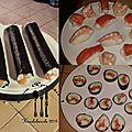Le mercredi c'est sushis !!!