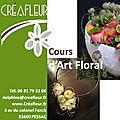 Planning des cours d'art floral