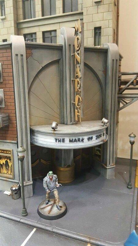diorama gotham city monolith batman remi bostal (4)