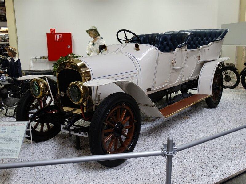 AUDI E type 22-55 double phaeton 1913 Sinsheim (1)