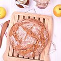 Pain au levain lait d'amandes et farine de kamut