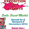 Exposition de talents