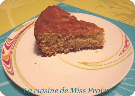 Gâteau à la noisette