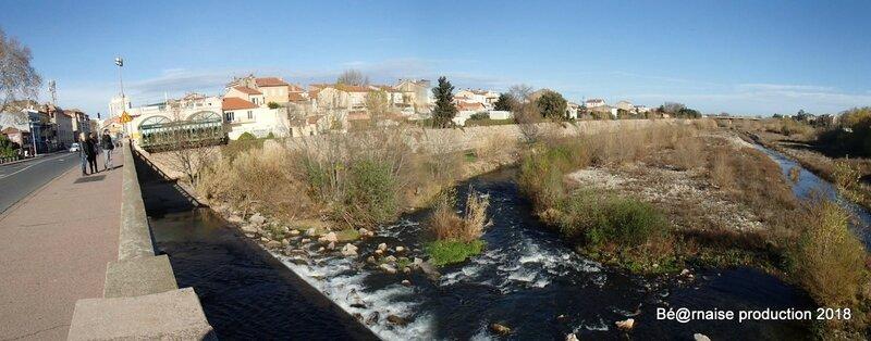 La Têt du Pont Joffre (Perpignan, janvier 2018)