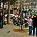 Instantané place de Clichy.