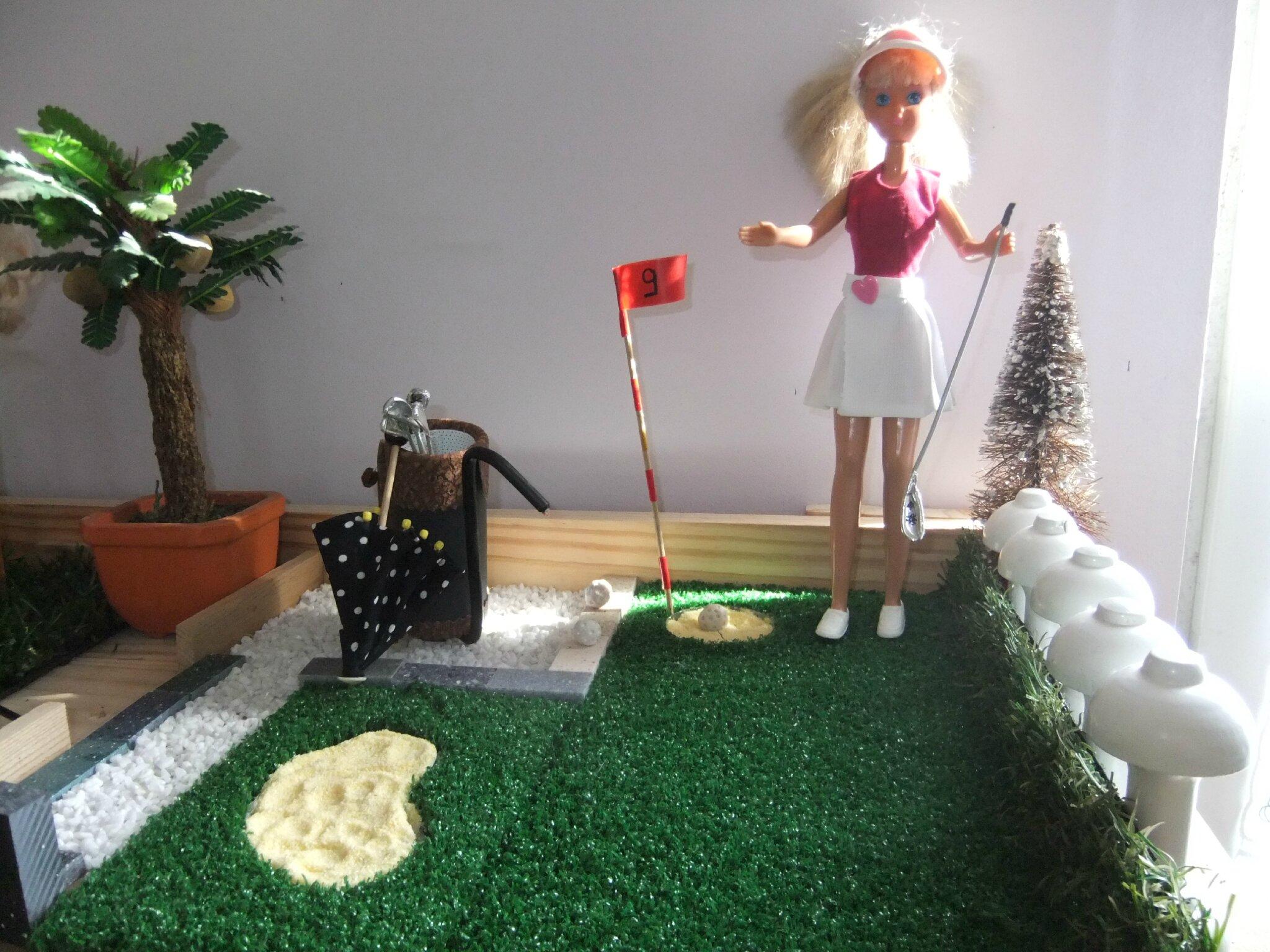 Jouons au golf , suite et fin ...