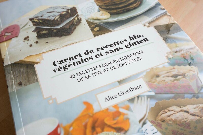 close up livre de cuisine