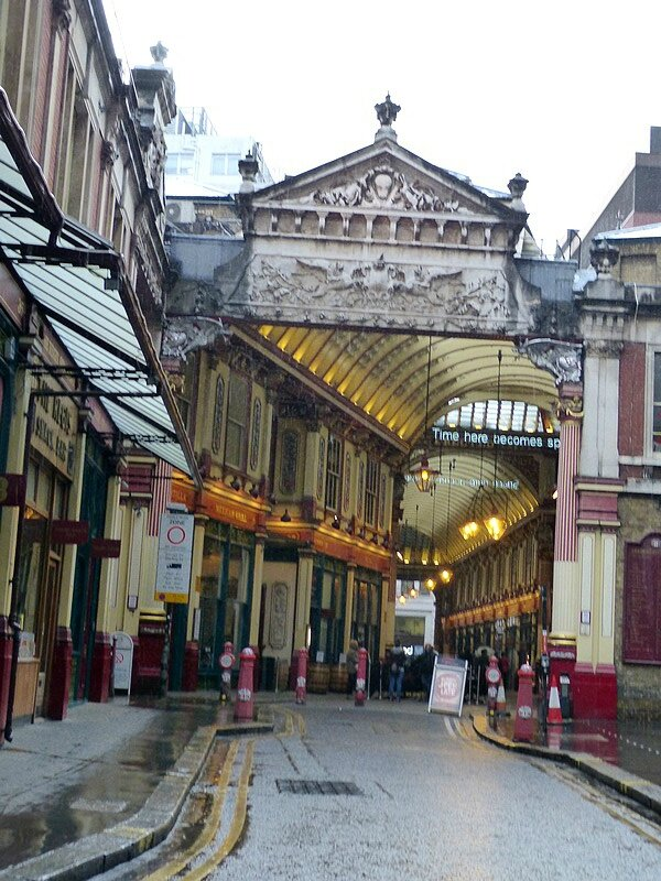the leadenhall market