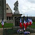 0nze novembre 2014 - la commune de bombon honore ses soldats