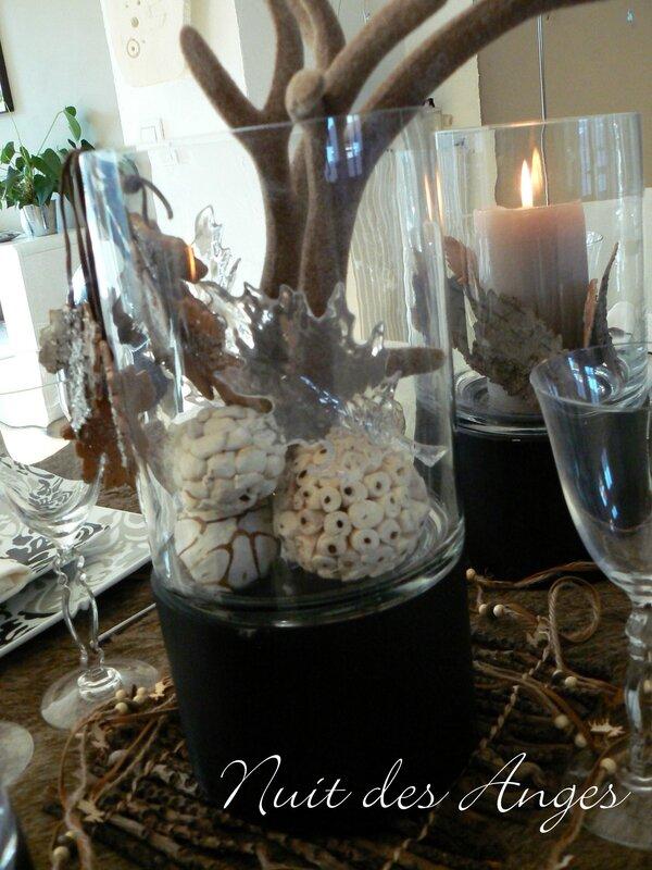 Nuit des anges décoratrice de mariage décoration de table scandinave 008