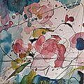 Compositions crayon et aquarelles (6)