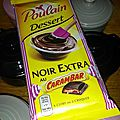 Tarte poire chocolat carambar poulain