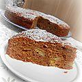 Gâteau fondant bananes & pralinoise