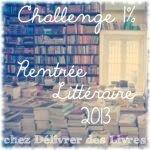 photo challenges rentrée 2013