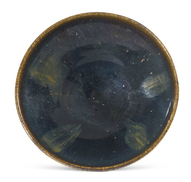 A russet-splashed black-glazed bowl, Northern Song-Jin dynasty.
