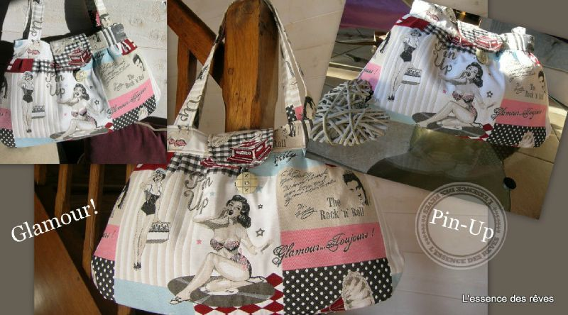 le sac Pin-up