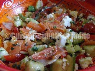 salade boulgour truite fumée 01