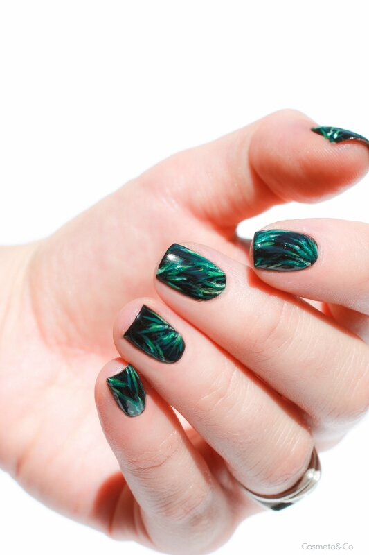 nail art feuilles tropicales_-2
