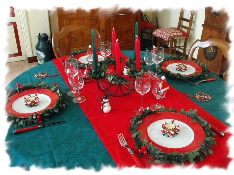 Table de no l 2011 056 photo de table no l traditionnel - Table de noel traditionnelle ...