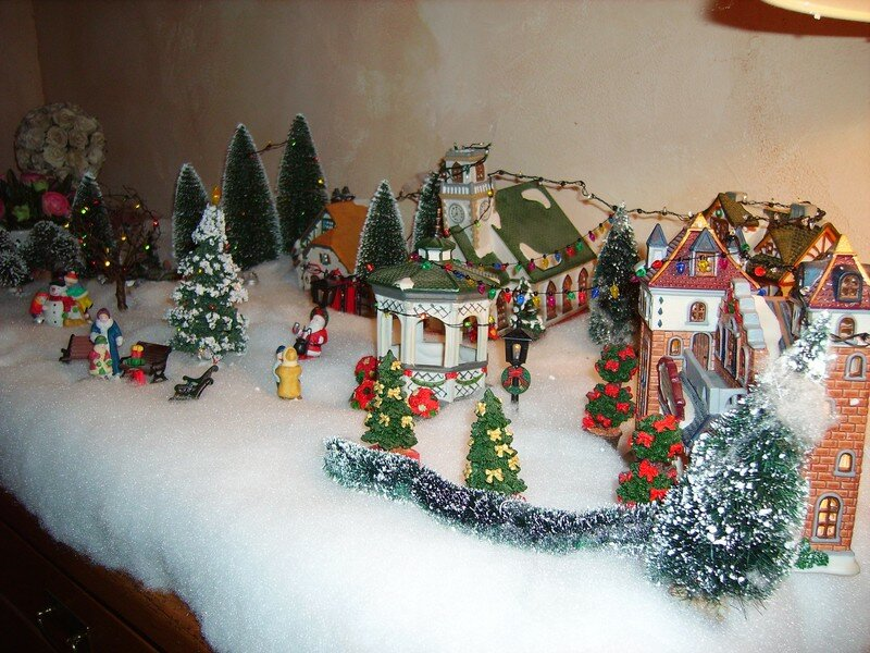 village de noel decoration good village de noel decoration with village de noel decoration. Black Bedroom Furniture Sets. Home Design Ideas