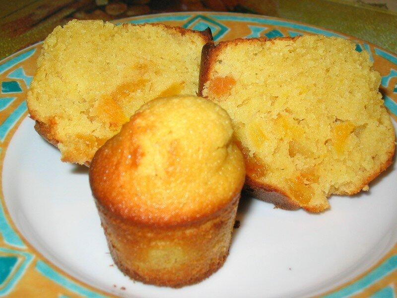 petits cakes aux abricots secs - la cuisine de marie