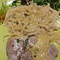 Vitello tonnato.