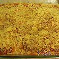 Lasagnes gratinée aux aubergines grillées