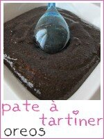 pâte à tartiner aux oreos - index