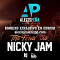 Tour europeen 2016 nicky jam