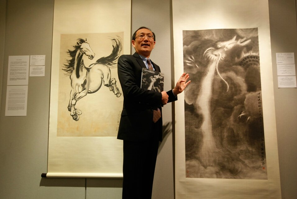 For nearly eight years, Chinese librarian Xiao Yuan replaced artworks with own fakes