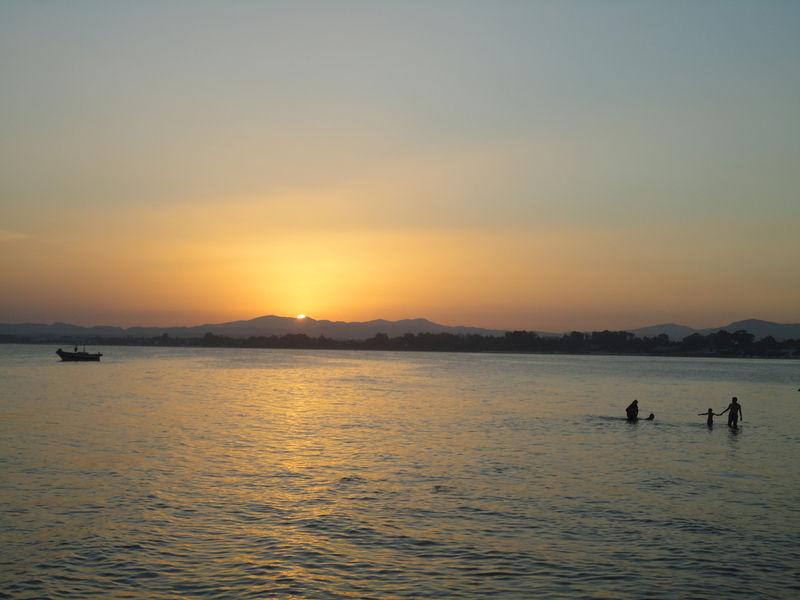 Le coucher de soleil du vendredi 5 août 2011