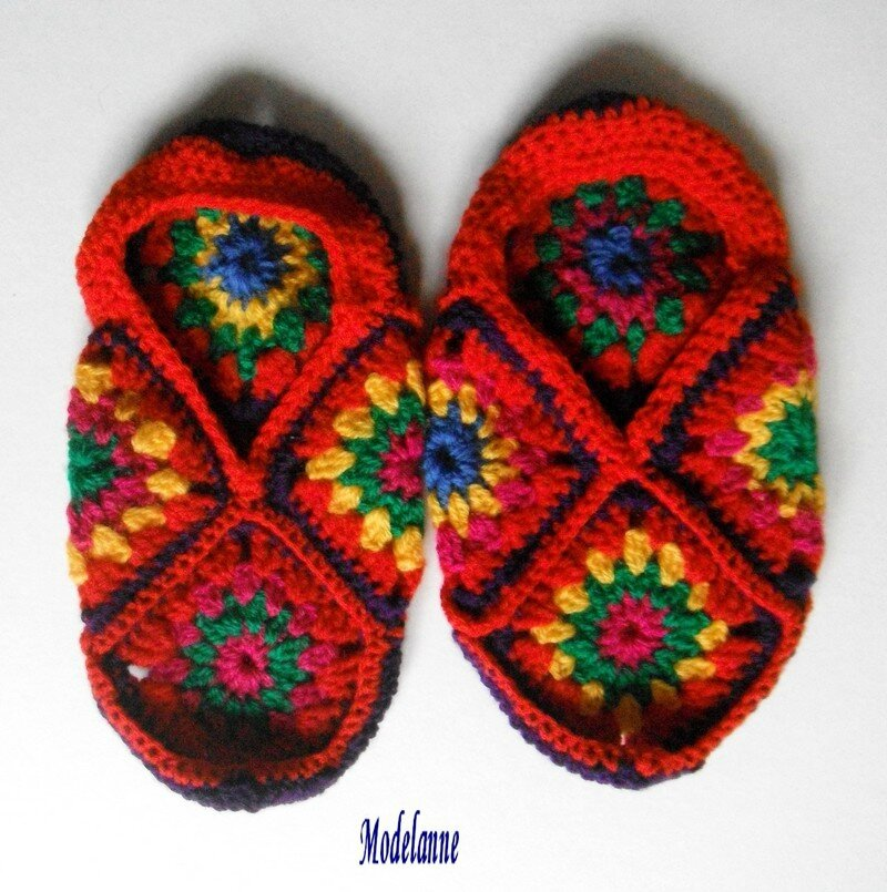chaussons granny