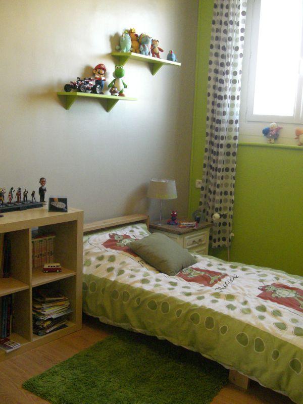 Stunning Chambre Verte Et Beige Ideas - Seiunkel.us - seiunkel.us