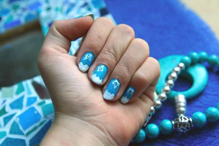 ongle nuages