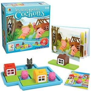 Boutique jeux de société - Pontivy - morbihan - ludis factory - Les trois petit cochons