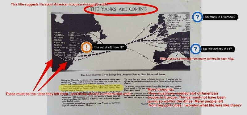 Section 4—The Yanks Are Coming Annotated