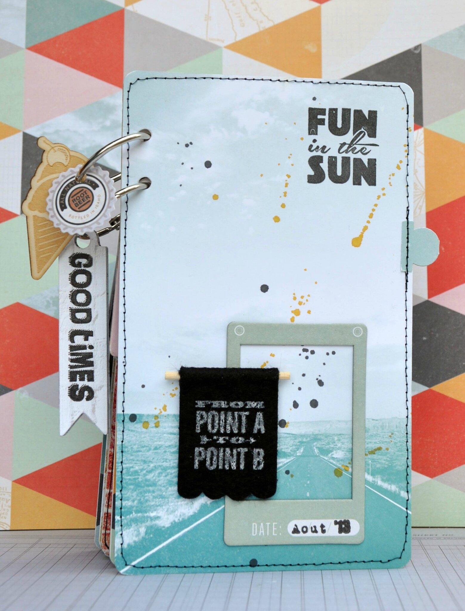 mini album {fun in the sun}