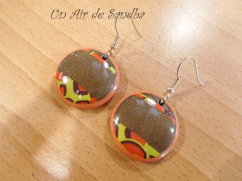 Boucles d'oreilles EtniK (4)