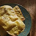 Daring bakers' february 2013 challenge - crispy flatbread -