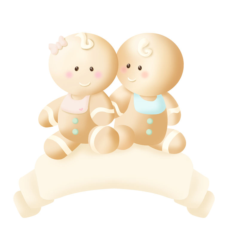 Logo bébé pain d'épice-Intuitive Concept